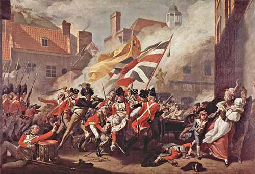 Battle of Jersey, Gemälde von John Singleton Copley