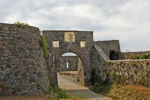 St Helier, Elizabeth Castle, Second Gate
