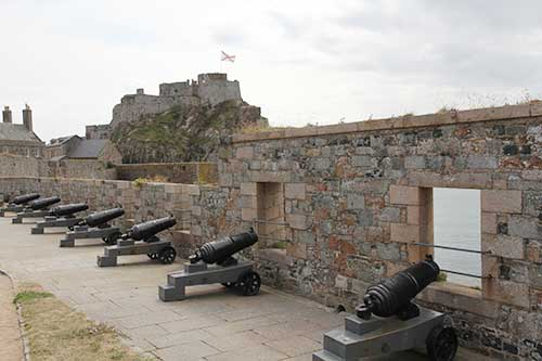St Helier, Elizabeth Castle, Grand Battery