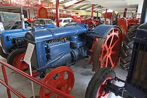 Trinity, Pallot Steam, Motor & General Museum, 1935 Fordson 'N'