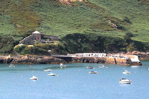 Trinity, Bouley Bay, Fort Leicester Battery