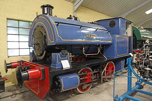 Trinity, Pallot Steam, Motor & General Museum, Lokomotive