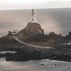 ersey, Corbière Lighthouse