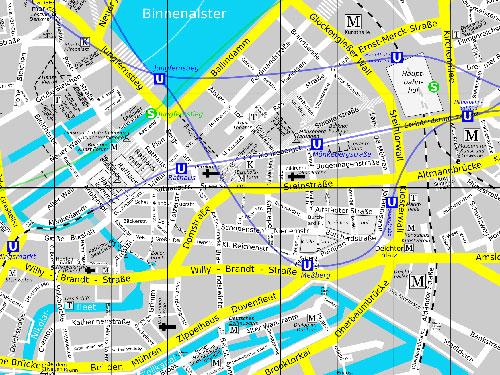 altstadt hamburg karte Hamburg   Altstadt   Sehenswürdigkeiten