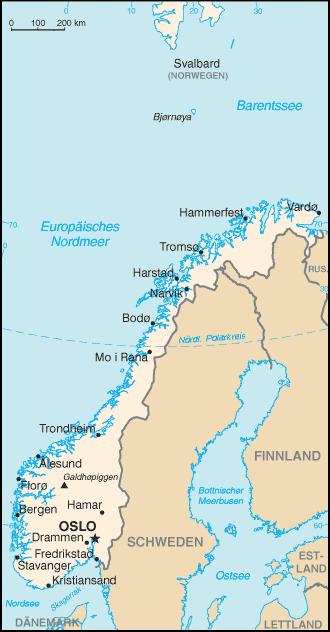 Karte Norwegen Schweden.Norwegen Landeskunde Bilderreisen