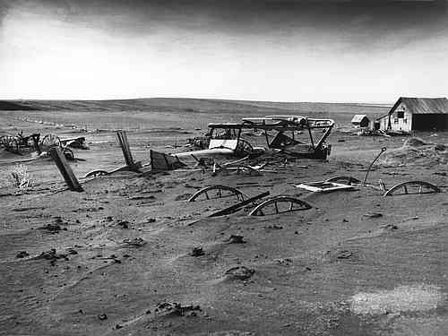 Dust Bowl, Great Plains, South Dakota