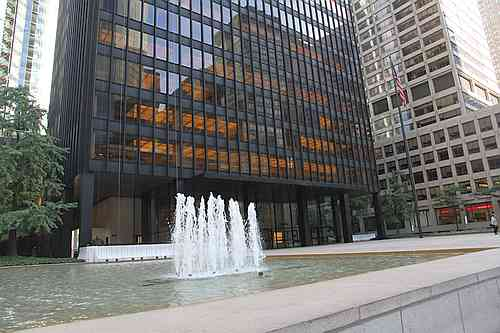 New York City, Park Avenue, Seagram Building
