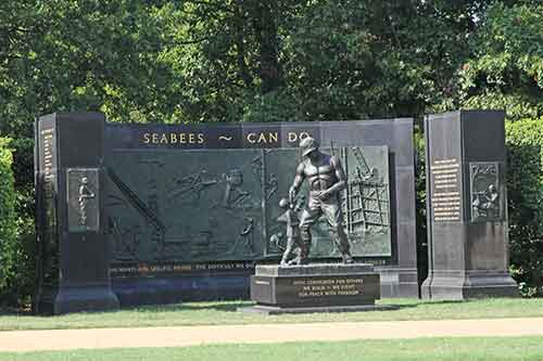 Virginia, Arlington National Cemetery, Seabees Memorial