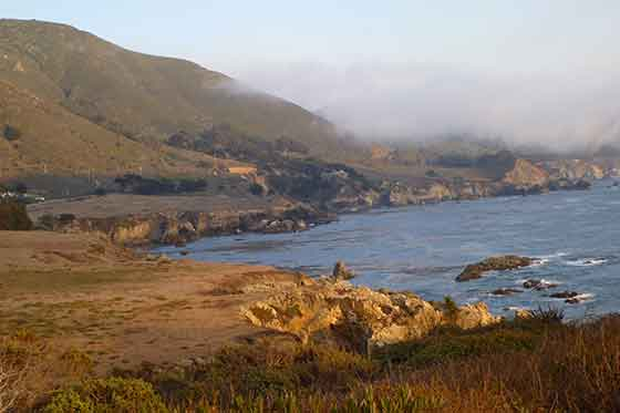 Kalifornien, Highway 1, Rocky Point