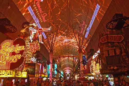 Las Vegas (Nevada), Downtown, Fremont Street Experience