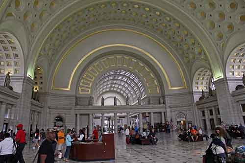 Washington, DC, Union Station, Tonnengewölbe