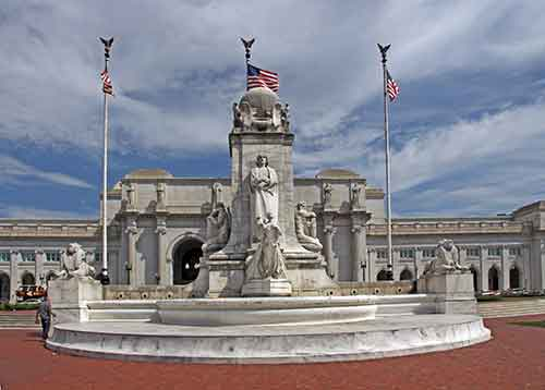 Washington, DC, Union Station, Columbus Memorial Fountain