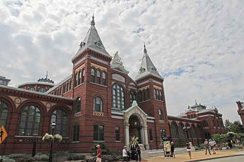 Washington, DC, National Mall, Arts and Industries Building