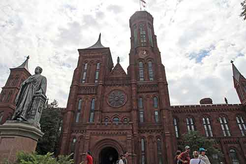 Washington, DC, National Mall, Smithsonian Castle
