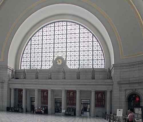 Washington, DC, Union Station, Halle