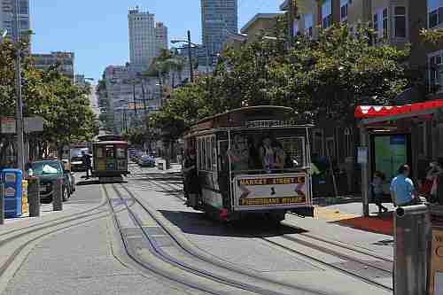 Kalifornien, San Francisco, Cable Cars