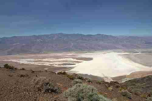 Kalifornien, Death Valley National Park, Dante's View