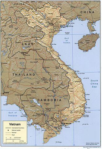 Vietnamkrieg Karte.Bilderreisen Vietnam Geografie Landesstruktur Klima Flora Fauna