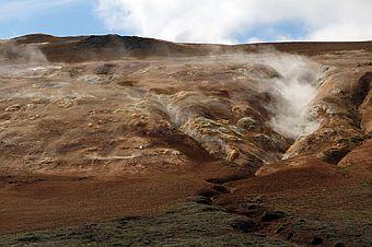 Bild: Norðurland Eystra - Reykjahlíð -                       Krafla